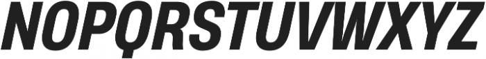 Heading Pro Medium ExtraBold Italic otf (500) Font UPPERCASE