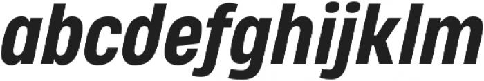 Heading Pro Medium ExtraBold Italic otf (500) Font LOWERCASE