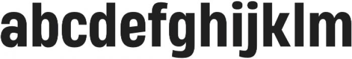 Heading Pro Medium ExtraBold otf (500) Font LOWERCASE