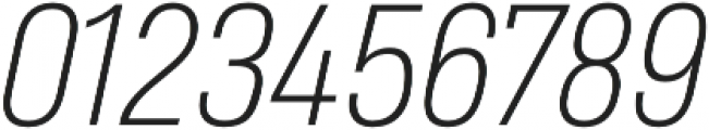 Heading Pro Medium ExtraLight Italic otf (200) Font OTHER CHARS