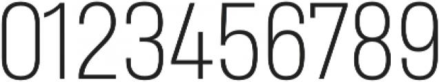 Heading Pro Medium ExtraLight otf (200) Font OTHER CHARS