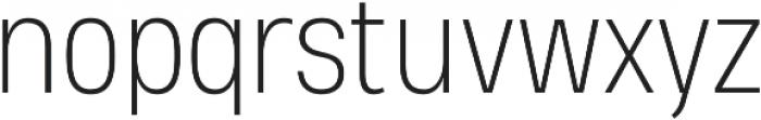 Heading Pro Medium ExtraLight otf (200) Font LOWERCASE