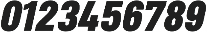 Heading Pro Medium Heavy Italic otf (500) Font OTHER CHARS