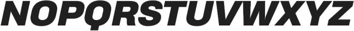 Heading Pro Treble Heavy Italic otf (800) Font UPPERCASE