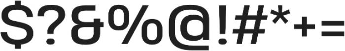 Heading Pro Treble otf (400) Font OTHER CHARS