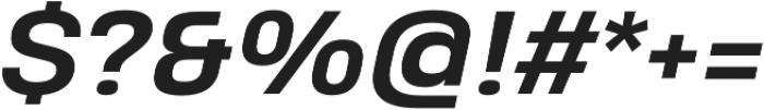 Heading Pro Treble otf (700) Font OTHER CHARS