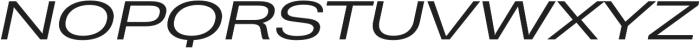 Heading Pro Ultra Wide Book Italic otf (400) Font UPPERCASE