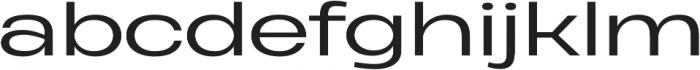 Heading Pro Ultra Wide Book otf (400) Font LOWERCASE