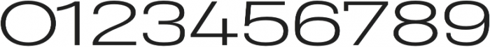 Heading Pro Ultra Wide Light otf (300) Font OTHER CHARS
