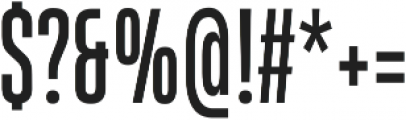 HeadingProUltracomp otf (400) Font OTHER CHARS