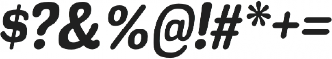 Headlight Bold Italic otf (300) Font OTHER CHARS