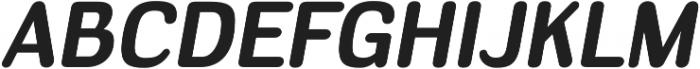 Headlight Bold Italic otf (300) Font UPPERCASE