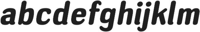 Headlight Heavy Italic otf (300) Font LOWERCASE
