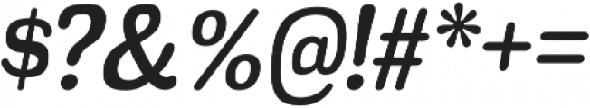 Headlight Italic otf (300) Font OTHER CHARS