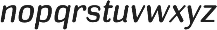 Headlight Italic otf (300) Font LOWERCASE