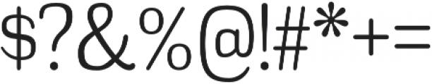Headlight Light otf (300) Font OTHER CHARS