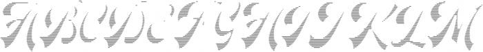 Headster Full Engraved otf (400) Font UPPERCASE
