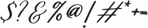 Healers otf (400) Font OTHER CHARS
