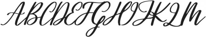 Healers otf (400) Font UPPERCASE