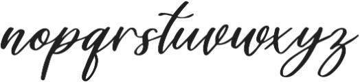 Healers otf (400) Font LOWERCASE