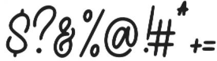 Hearthline otf (400) Font OTHER CHARS