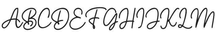 Hearthline otf (400) Font UPPERCASE