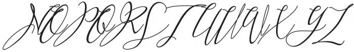 Heartkything  Regular otf (100) Font UPPERCASE
