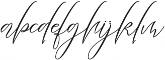 Heartkything  Regular otf (100) Font LOWERCASE