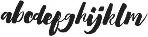 Heartwell Regular otf (400) Font LOWERCASE