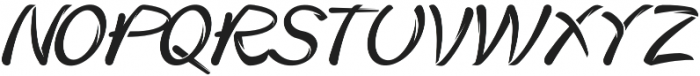 Heater otf (400) Font UPPERCASE