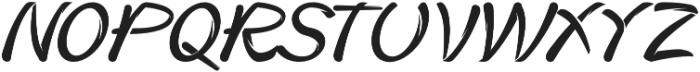 Heater otf (400) Font LOWERCASE