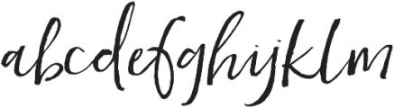 Heathrow Alternates otf (400) Font LOWERCASE