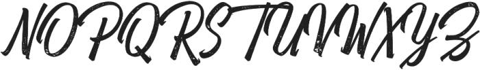 Heatslide Rough otf (400) Font UPPERCASE