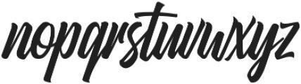 Heatslide otf (400) Font LOWERCASE