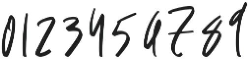 Heaven moon otf (400) Font OTHER CHARS