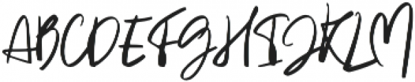 Heaven moon otf (400) Font UPPERCASE