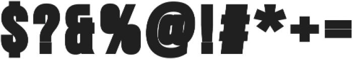Heavy Gospel Regular ttf (800) Font OTHER CHARS