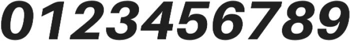 Heavy Italic otf (800) Font OTHER CHARS