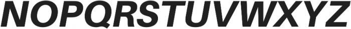Heavy Italic otf (800) Font UPPERCASE