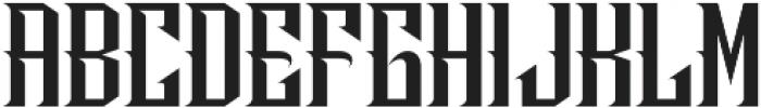HeavyMetal otf (800) Font UPPERCASE
