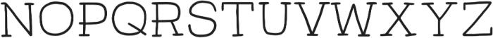 Hectra Bold otf (700) Font LOWERCASE