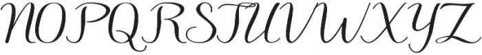 Hedgehog otf (400) Font UPPERCASE