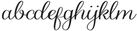 Hedgehog otf (400) Font LOWERCASE