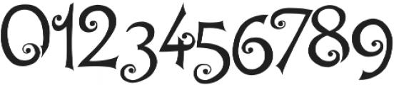 Hegran otf (400) Font OTHER CHARS