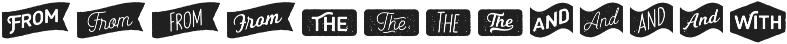 Heiders Extras 4 Regular otf (400) Font UPPERCASE