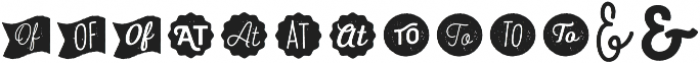 Heiders Extras 4 Regular otf (400) Font LOWERCASE