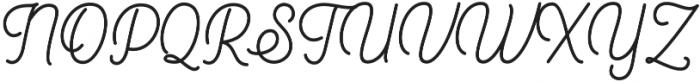Heiders Handmade Script Handmade Script otf (400) Font UPPERCASE