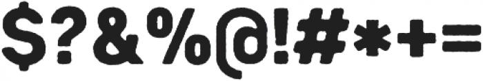 Heiders Sans Black R Black otf (900) Font OTHER CHARS