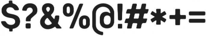 Heiders Sans Bold C Bold otf (700) Font OTHER CHARS