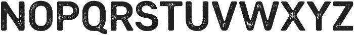Heiders Sans Bold R 2 Bold otf (700) Font UPPERCASE